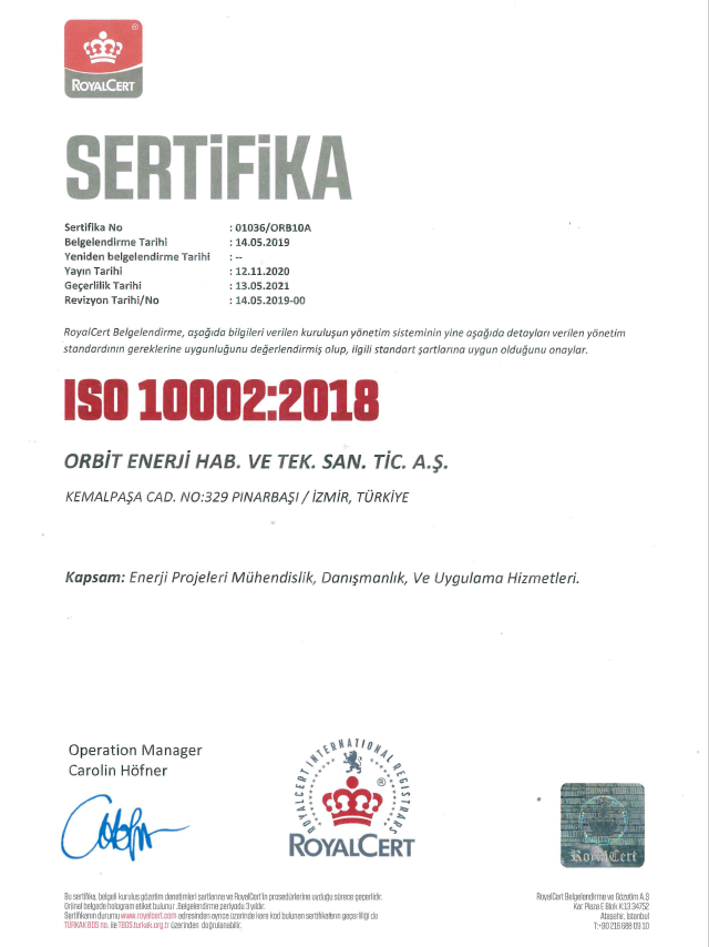 ISO 10002-2021
