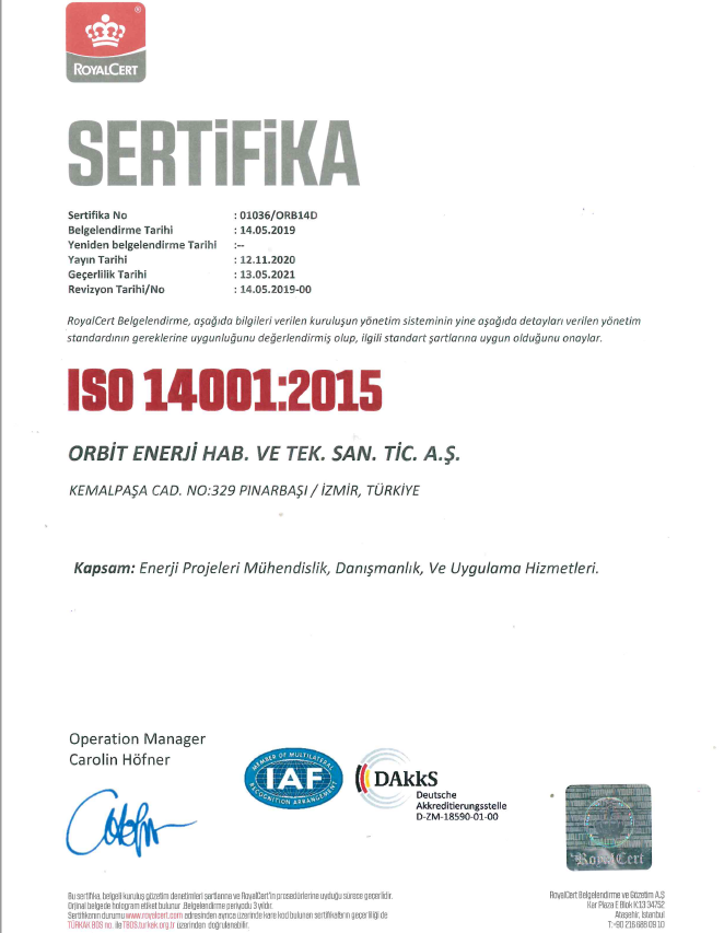 ISO 14001-2021